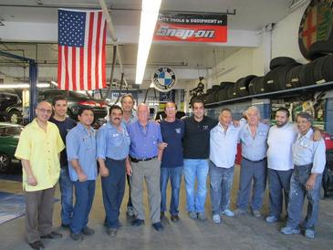 V & S Motor Service Inc - Our experienced crew of mechanical technicians, foreman, and body shop technicians.