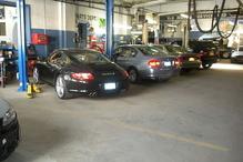 V & S Motor Service Inc - Busy mechanical repair shop