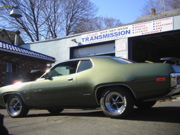 Everett Transmission & Auto Repair - One of the many Classic Mopar's