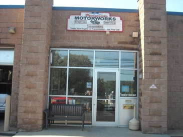 Bridgewater Motorworks - The front of our building. Bridgewater Motorworks.