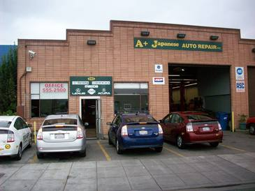 A+ Japanese Auto Repair Inc - SERVING BELMONT, SAN CARLOS, REDWOOD SHORES, REDWOOD CITY, SAN MATEO, FOSTER CITY - Working on a client's Subaru from Belmont, CA 94002.