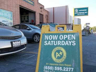 A+ Japanese Auto Repair Inc - CLEANLIEST FACILITY IN THE BAY AREA - One of the cleanliest auto repair facilities servicing Belmont, Redwood Shores, Redwood City, San Carlos, San Mateo, and surrounding cities.