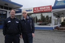 K.C. Martin Automotive Service Co. - Kevin and Lloyd