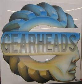 Gearheads Auto Service - Our company logo, from a local artist, Rick.