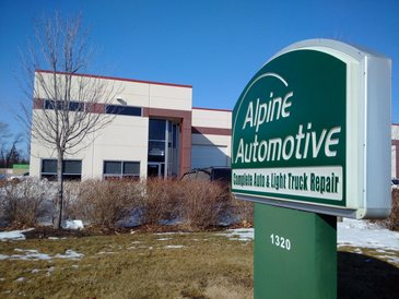 Alpine Automotive - The front of our building