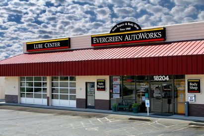 Evergreen Autoworks - Store Front