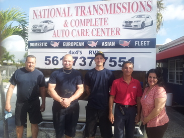 National Transmissions & Auto Care Center - Part of our Customer Service Team