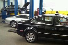 Prestige Automotive - Working on a VW Passat, Audi A4 Quattro & Jaguar XK8 Coupe