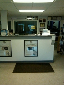 Prestige Automotive - Our front service counter
