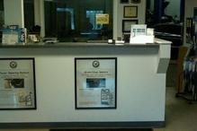 Prestige Automotive - Our front service counter
