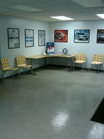 Prestige Automotive - Our spacious and clean waiting area