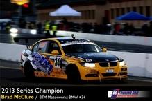 BTM Motorwerks - BTM Motorwerks - Brad McClure 2013 United States Touring car Champion driving BMW 325i