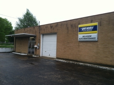 Belvidere Auto Maintenance, Inc - We are located 2 doors west of the YMCA on the same side of the street right next to the BIG radio tower. Note that we are NOT directly across the street from the YMCA