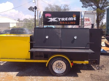 Auto Xtreme Repair & Accessories - here at auto Xtreme repair we love to cook here is are smoker we built for customer appreciation days so keep a eye on us to see when we will have free lunch for you