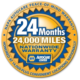Bells Mill Auto Care - Our NAPA Warranty