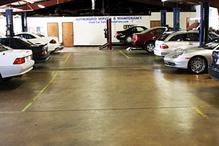 Auto Hans - Inside of shop