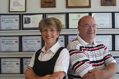 Tri City Auto Care - Ken and Rhonda McCormick, Owners.