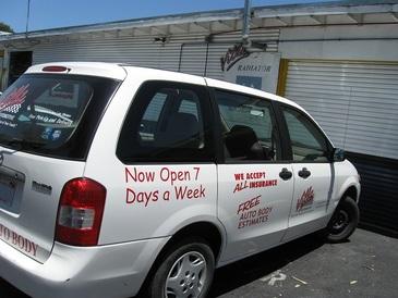 Villa Automotive - We have 2 shuttle vans