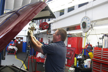 Villa Automotive - Tracy is a master Certified Tech.
