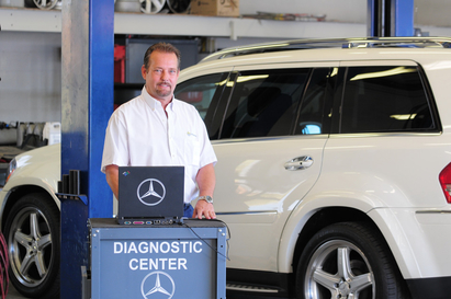 Sun Valley Imports - Co-owner Juergen Ankert has over 35 years experience in the service of fine European imports and manages our shop and our parts department.