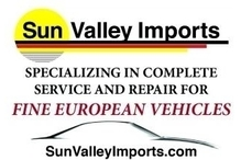 Sun Valley Imports - Sun Valley Imports, specializing in the complete service and repair of fine European vehicles including Audi, BMW, Porsche, Mercedes, Mini, Rover, Smart & VW.