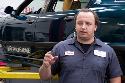 Milt's Service Garage - Adrian is a partner at Milt's Service Garage.  He's a Master Technician from BMW and knows these cars like the back of his hand.