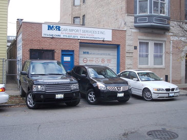 M & R Car Import Services - It does not matter if the vehicle is large or small, we work on all vehicle makes and models!