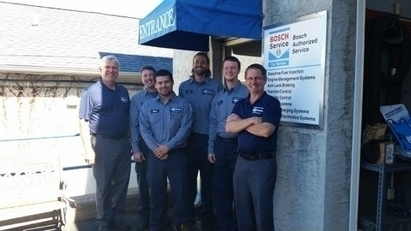 German Auto Specialists Inc. - Meet our Staff.  John (JB),Tony,Gus,Nick,Tim & John(JR)