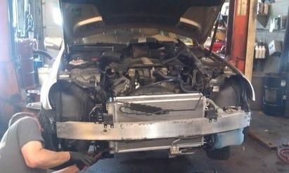 German Auto Specialists Inc. - A Big tear down today