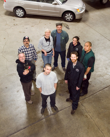 Pat's Garage - The Pat's Garage Crew