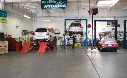 Pat's Garage - Our shop area is clean and full of the latest technologies to keep you car well maintained.