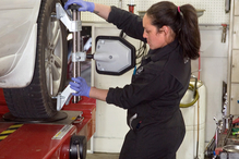 Pat's Garage - We offer state of the art alignments