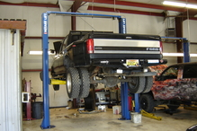 RC Auto Specialists - Heavy duty lifts for heavy duty trucks.