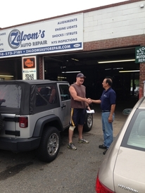 Zaloom's Auto Repair - Long time customer Tom wondered why he wasn't in any pictures.  Well here you go Tom.  God bless