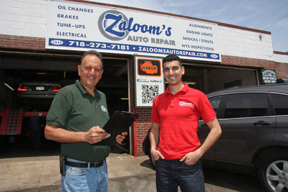 Zaloom's Auto Repair - It's great to work with my son Joe....We love this business!