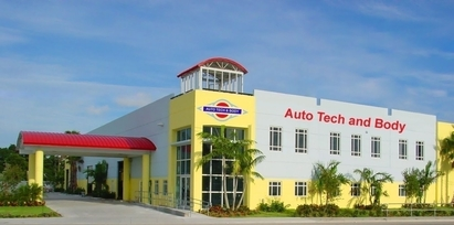 Auto Tech And Body - Auto Tech and Body is strategically located close to I-95 and the Turnpike.