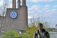 German Car Depot   Volkswagen, Audi, Mercedes Benz, BMW, Mini - Ollie at VW factory In Wolfsburg Germany. 3 days of classes and a had a really great time.