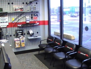 Auto Lab Plymouth - Comfortable waiting area with wireless internet.