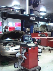 Auto Lab Plymouth - Hawkeye Alignment System