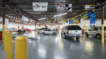 The Auto Shop - This is part of our service area